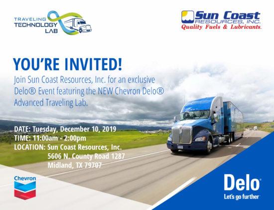 Sun Coast Delo Truck Event